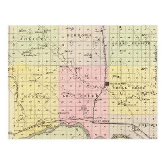 パレット郡、ネブラスカ ポストカード