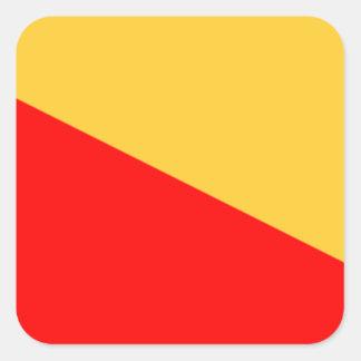 パレルモの旗 スクエアシール