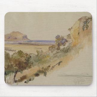 パレルモ1847年の近くの眺め(w/c pのペン及びインク マウスパッド