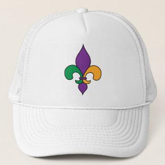 パレードの謝肉祭の(紋章の)フラ・ダ・リのトラック運転手の帽子 キャップ