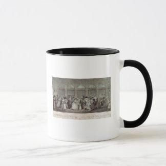 パレ・ロワイヤルのギャラリーの歩行1787年 マグカップ