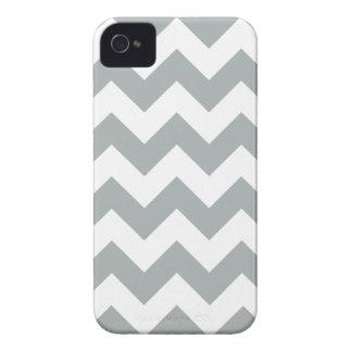 パロマ灰色のシェブロンのジグザグ形のiPhone 4/4Sの箱 Case-Mate iPhone 4 ケース