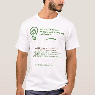パロ・アルト緑エネルギーワイシャツ Tシャツ