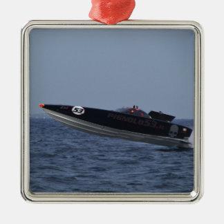 パワーボートの競争の危険 メタルオーナメント