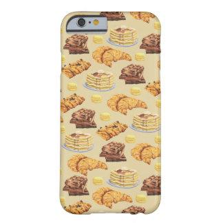 パンおよびパンケーキパターン BARELY THERE iPhone 6 ケース