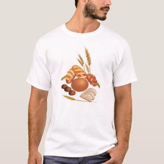 パンおよび穀物 Tシャツ