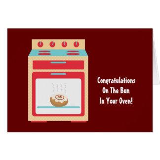パンのオーブン(カスタマイズ可能な母性) カード