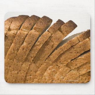 パンのスライスされた塊 マウスパッド