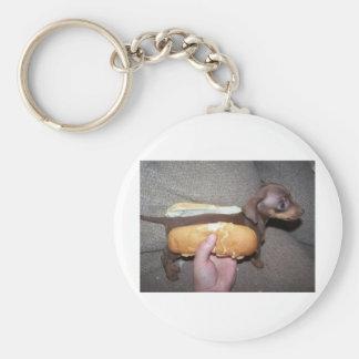 パンの犬 キーホルダー