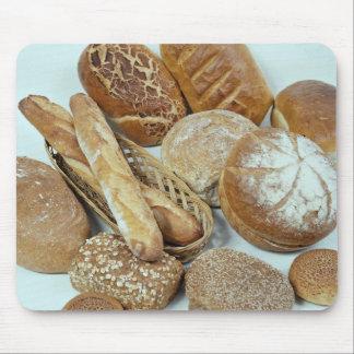 パンの類別 マウスパッド