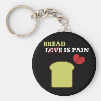 パンは苦痛です キーホルダー