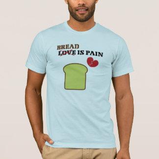 パンは苦痛のTシャツです Tシャツ