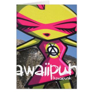 パンクのマスコット カード