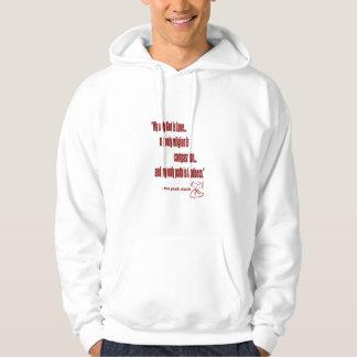 パンクの修道士のフード付きスウェットシャツ パーカ