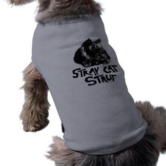 パンクの外部猫の支柱ペットワイシャツ ペット服