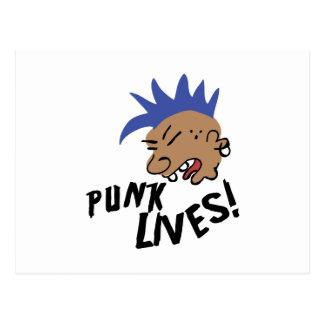 パンクの生命! ポストカード