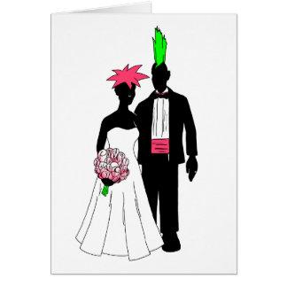 パンクの結婚式 カード