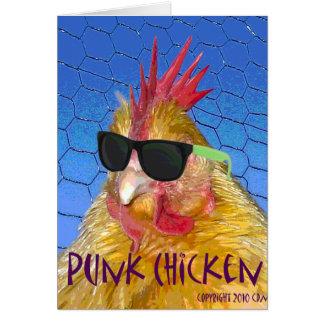 パンクの鶏 カード