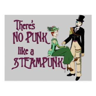 パンクはSteampunkを好みません ポストカード