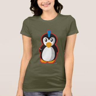 パンクロックのペンギン Tシャツ