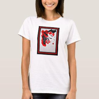 パンクロックミュージシャンの芸者のTシャツ Tシャツ