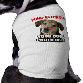 パンクロック犬(あなたの犬の写真と) ペット服