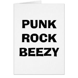 パンクロックBEEZYカード カード