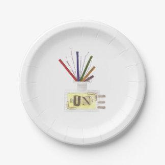 パンク部屋の拡散器の紙皿 ペーパープレート