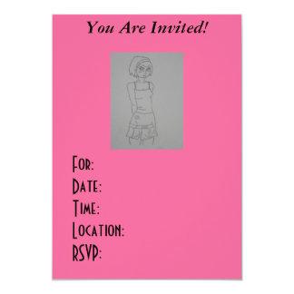 パンク、Emoの10代のな招待状! カード