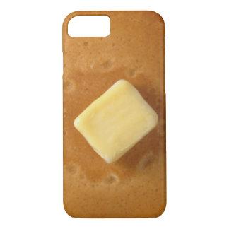 パンケーキおよびバター iPhone 8/7ケース