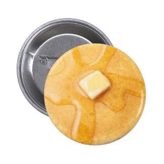 パンケーキボタン 5.7CM 丸型バッジ