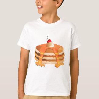 パンケーキ積み重ね Tシャツ