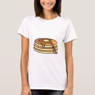 パンケーキ-女性のTシャツ Tシャツ