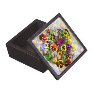 パンジーの美しいの~の優れたギフト用の箱 ギフトボックス