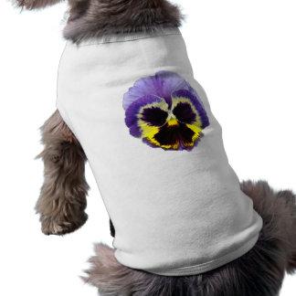 パンジーの花ペット衣類 ペット服