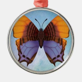 パンジーのDaggerwingの蝶 メタルオーナメント