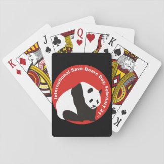 パンダおよびすべてをくま種救って下さい。 トランプ