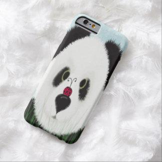 パンダおよび彼の訪問者のiPhone 6の場合 Barely There iPhone 6 ケース