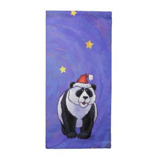 パンダくまのクリスマス ナプキンクロス