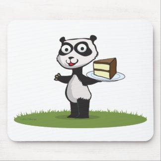 パンダくまのケーキ マウスパッド