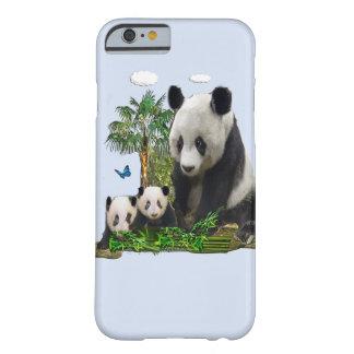 パンダくまのデザイン BARELY THERE iPhone 6 ケース