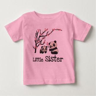 パンダくまの妹 ベビーTシャツ
