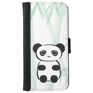 パンダくまの電話財布 iPhone 6/6S ウォレットケース