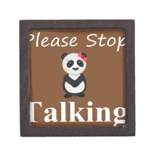 パンダくまを話すことを止めて下さい ギフトボックス