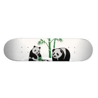 パンダくま家族 スケートボード