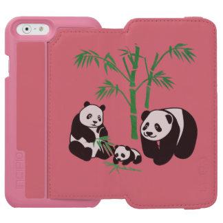 パンダくま家族 INCIPIO WATSON™ iPhone 6 財布ケース