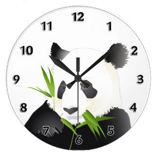 パンダくま ラージ壁時計