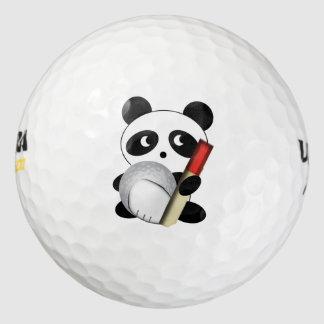 パンダのゴルファー ゴルフボール