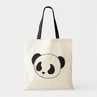 パンダのスケッチのトートバック トートバッグ
