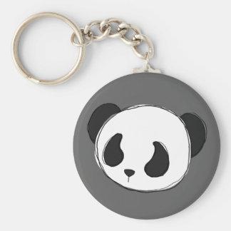 パンダのスケッチのkeychain キーホルダー